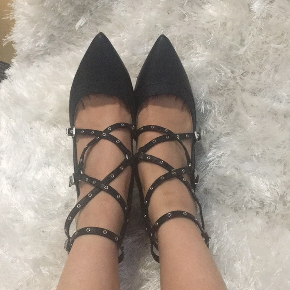 d691f800a08 Charlotte Russe Black Strappy Heels